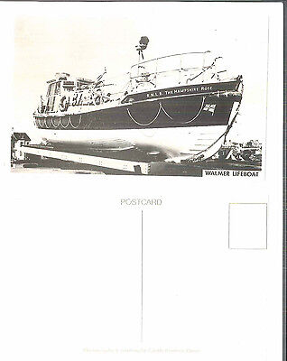 Walmer Hampshire Rose Rnlb Life  Boat  Photograph By Castle Printers Of Dover