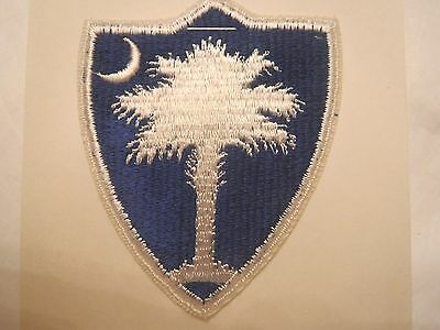 South Carolina U. S. Army National Guard Embroidered Military Patch