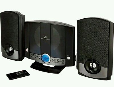 GPX HM3817DT Micro Hi-Fi System - CD Player - HM-3817DTBLK