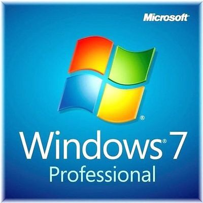 Microsoft Windows 7 Professional 64 bit SP1 Full Version & Upgrade  [Sealead]