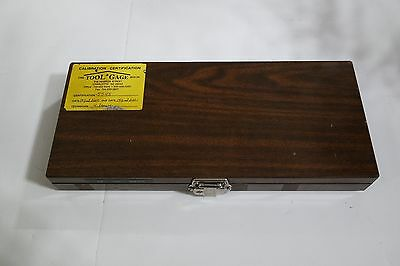 Inspection Control Company Gage Block Set Missing Pieces