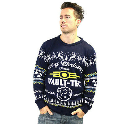 Fallout 4 Official Vault Tec Christmas Jumper / Sweater (X-Small)