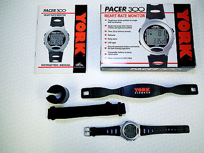 York Pacer 300 Heart Rate Monitor Watch