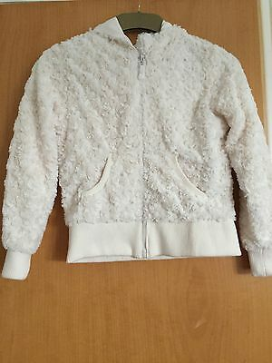 Beautiful Girls Cream Hooded Jacket, primark, age 11-12, Exc cond