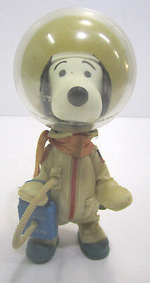 Vintage Peanuts Snoopy Astronaut Figure 1969 Determined Products Doll