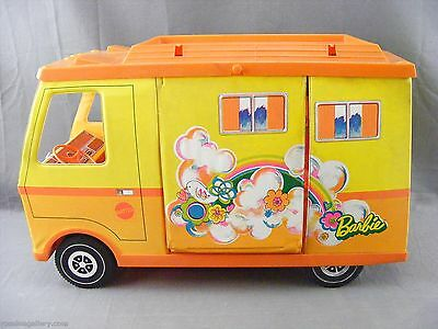 Vintage 1971 Mattel Barbie Country Camper-Dirty & Pop Out Damaged