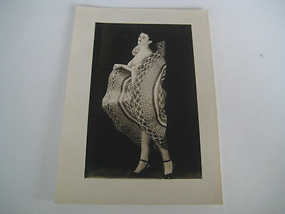 Lot E68 Vtg 1940s - 1950s VINTAGE PRINT Nude Erotic Pin-Up Photograph SMALL SIZE