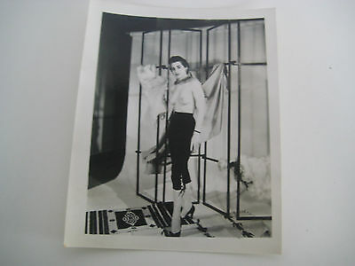 Lot E59 Vtg 1940s - 1950s VINTAGE PRINT Nude Erotic Pin-Up Photograph SMALL SIZE