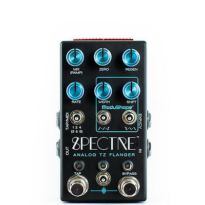 Chase Bliss Audio Spectre Version 2 Analog TZ Flanger Guitar Effects Pedal