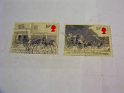 Gb Celebration Of Royal Mail 1984 Stamps