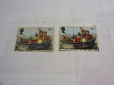 Gb Fishing Industry 1981 Stamps