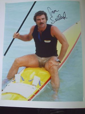 Tom Selleck Genuine Signed 10X8 Photograph