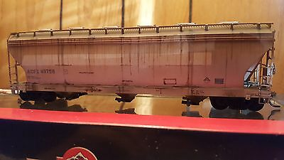 Custom Weathered ACF 4650 hopper ACFX. Southern Tier