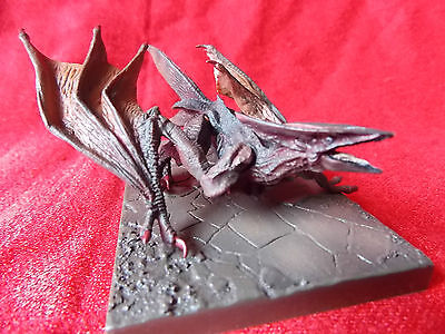 "UNOPENED! GYAOS Diorama GAMERA PVC Figure Length 3.8"" 9.5cm KAIJU UK DESPATCH"