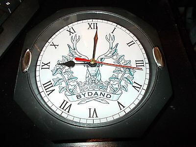 The Gordon Highlanders 130Mm Glass Front Wall Clock