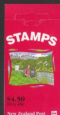New Zealand $4.50 stamp booklet