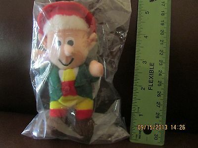 Keebler Company-Ernie Elf Beanie Baby Collectable-NEVER TAKEN OUT OF ORIGINAL PK