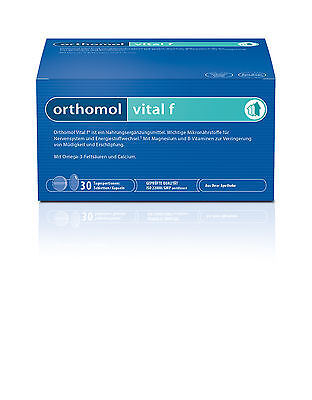 ORTHOMOL VITAL F Tablets/Capsules, 30 Daily portion, 01319620