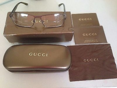 New Unisex Gucci Reading Glasses 130 Gg 1898 X5N