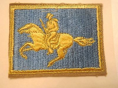 Wyoming State U. S. Army National Guard Embroidered Military Patch