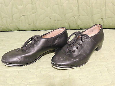 Bloch, Girl s Tap Shoes, Size 5 1/2, Black Leather