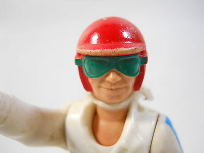 VINTAGE EVEL KNIEVEL ACTION FIGURE WITH HELMET 1975 Fisher Price Toys