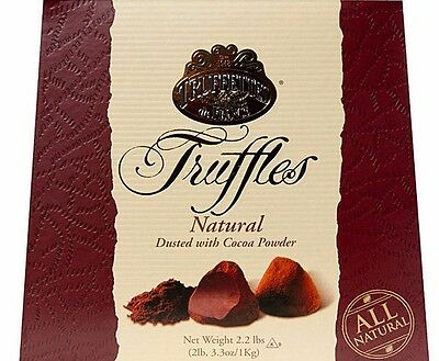 French Truffles Dusted with Cocoa Powder 2 x 1 kg Box Gift Chocolates Sweets AUS