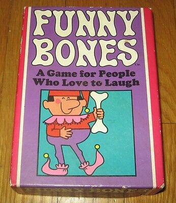 FUNNY BONES~ A 1968 Parker Brothers Game for People Who Love to Laugh