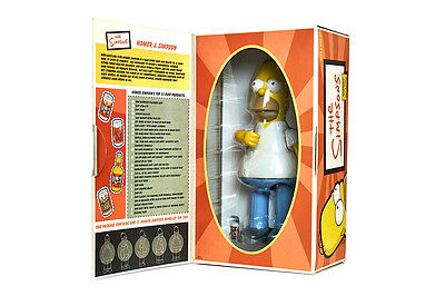 The Simpsons: Homer Simpson Tin Action Toy 2002