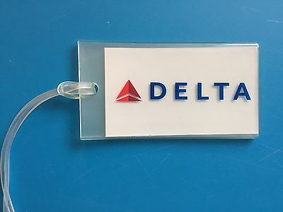 Delta Airlines Luggage Tag