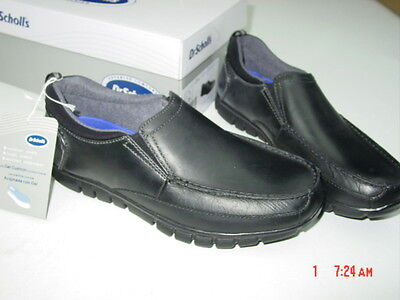 66f671930ef NWT Men s Dr. Scholl s Casual Black Loafers Slip On Connor Genuine Leather  Shoes
