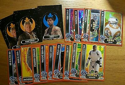 Star Wars Force Attax Extra trading cards