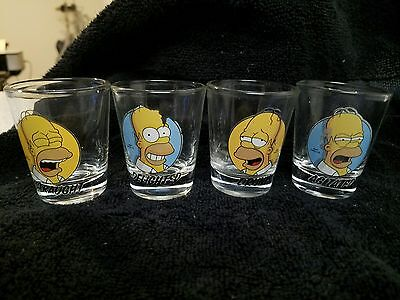 Homer Simpson Shot Glasses (4)