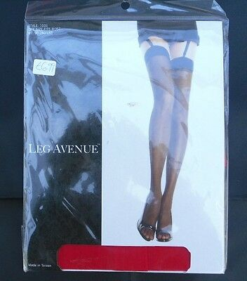 One Pair of Leg Avenue Sheer Red Stocking, One size fits most, 90-160lb