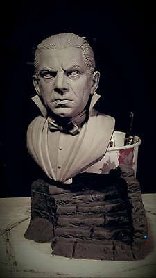 Dracula   1/4 scale bust   sculpted by Jeff Yagher  resin model kit