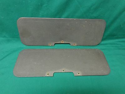 1932 Ford original sun visor boards,   Beautiful for 84 years old