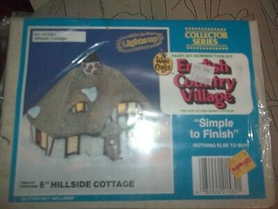 Accents Unlimited-Wee Crafts  Hillside Cottage Lighted  English Country Village