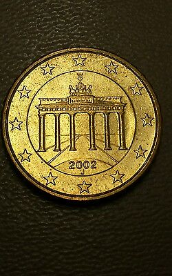 World Coins - Germany 10 Euro Cent 2002 J Coin. THIS WAS 1 OF LEE'S COINS!