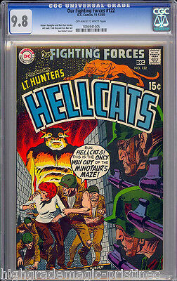 Our Fighting Forces #122 Cgc 9.8 Single Highest Graded Seattle Drug #1096941005