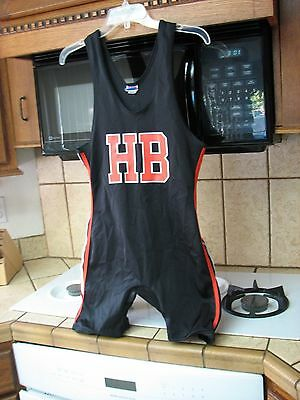 Huntington Beach High School California wrestling team singlet the Oilers