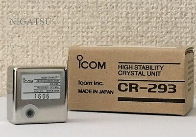NEW ICOM CR-293 High Stability Crystal Unit From JAPAN