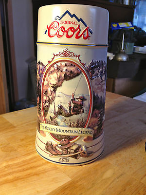 Coors-The Rocky Mountain Legend Series-Stein-1994