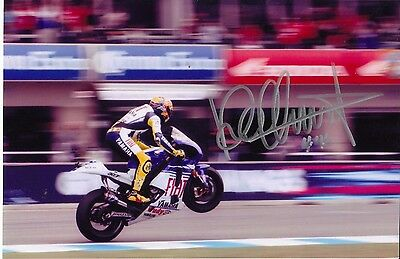 Valentino Rossi Signed MotoGP Photograph with COA