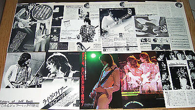 Jeff Beck Vintage Clippings