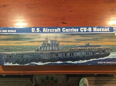 Trumpeter 1:350 USS Hornet CV-8 Aircraft Carrier model kit with photo etch