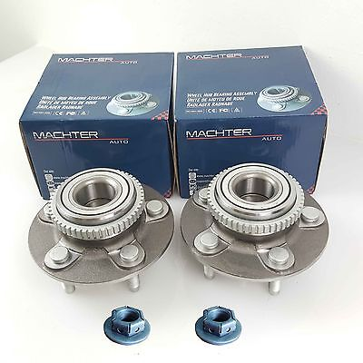 Pair Genuine Machter Ford Falcon Nuts & ILJIN Front Wheel Bearing/Hubs AU/BA/BF