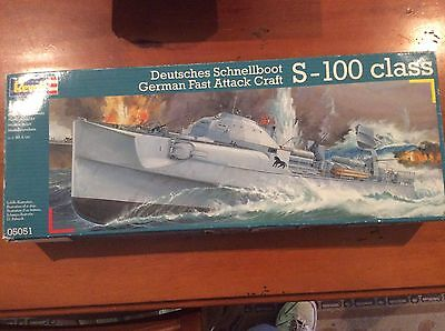 Revell 1:72 S-100 Schnellboot Fast Attack Craft model kit