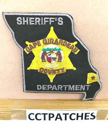 Cape Girardeau County, Missouri Sheriff State Shape (Police) Shoulder Patch Mo