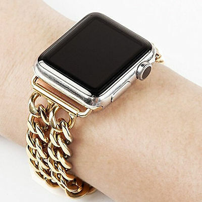 Luxury Stainless Steel Wristwatch Band Bracelet For Apple Watch iwatch 38/42mm