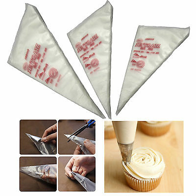 100pcs Disposable Cream Pastry Cake Icing Piping Decorating Drcorate Bags Tools